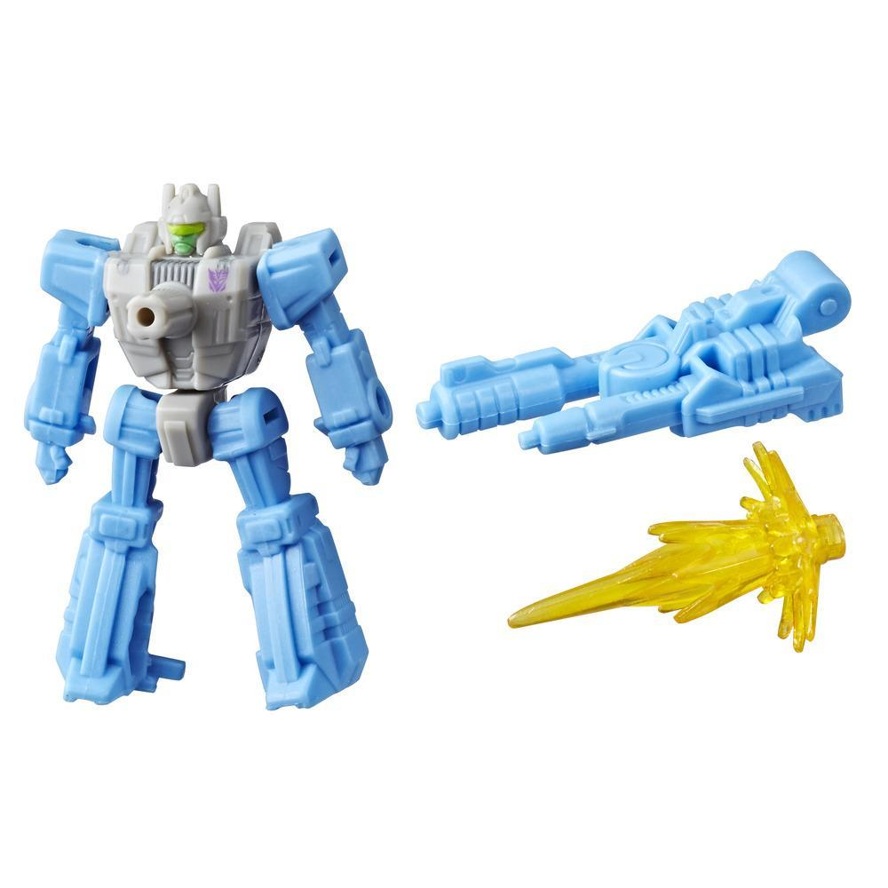 Transformers Generations War for Cybertron: Siege - Figurine Blowpipe WFC-S3 Battle Masters de classe de luxe