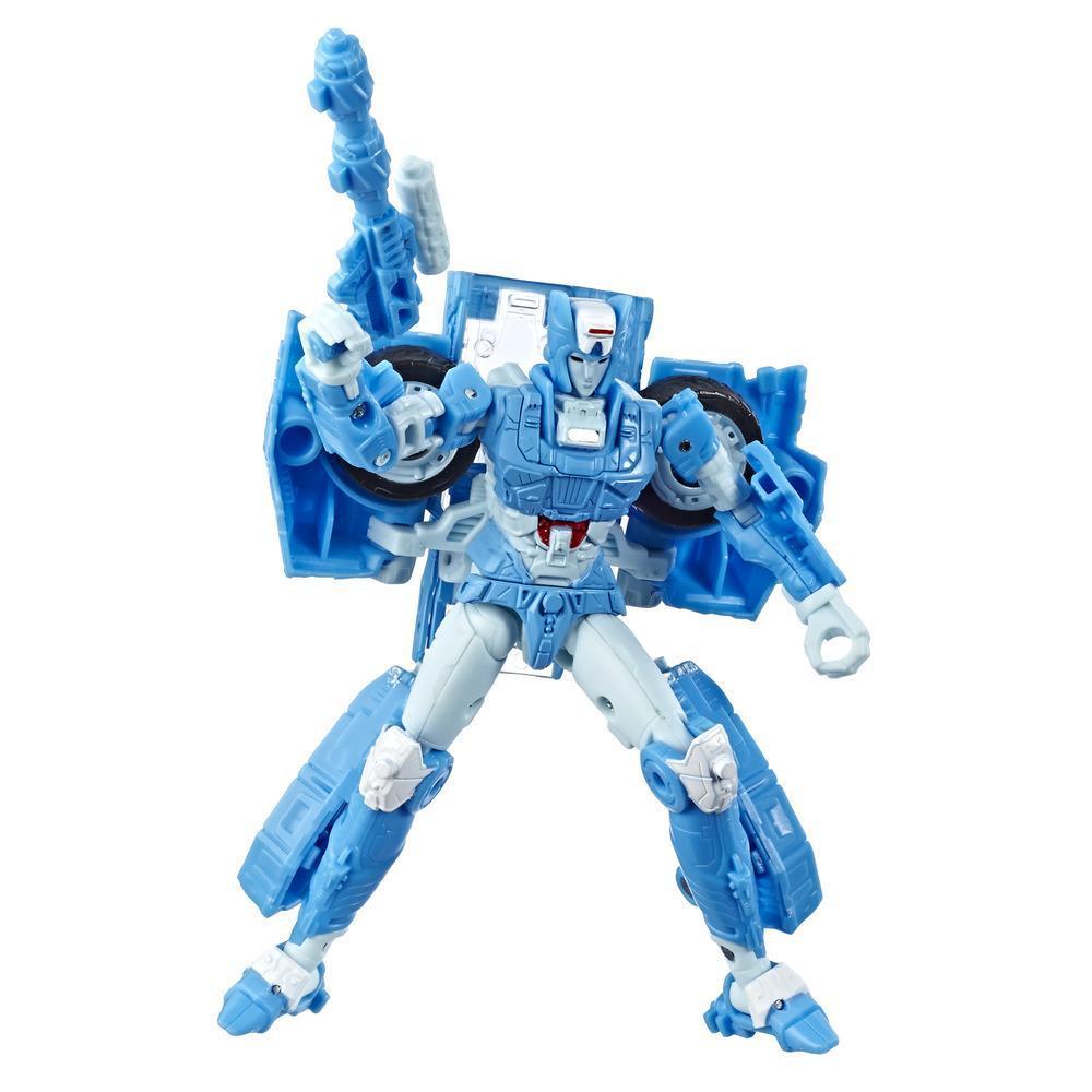 Jouets Transformers Generations War for Cybertron, figurine Chromia WFC-S20 de luxe, gamme Siege, pour adultes et enfants de 8 ans et plus, 14 cm