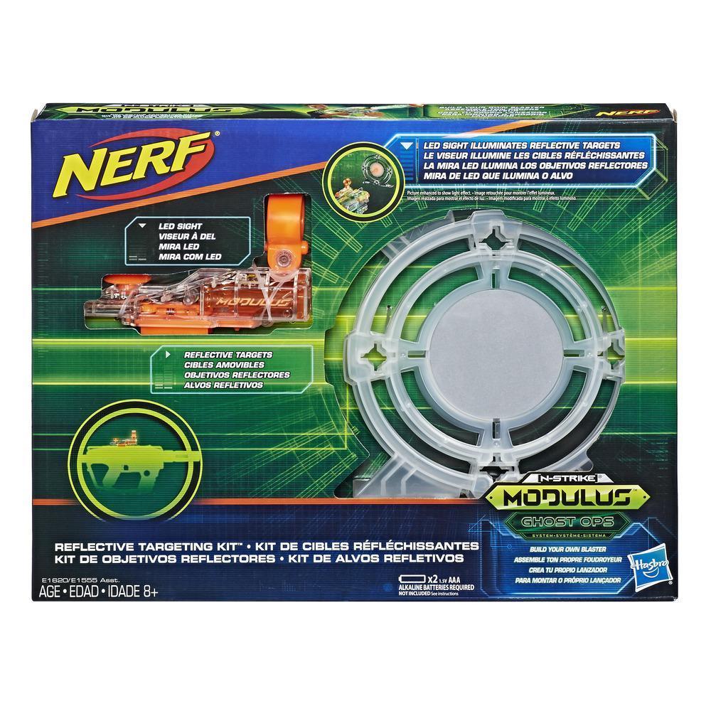 Nerf Modulus Ghost Ops - Kit de cibles réfléchissantes