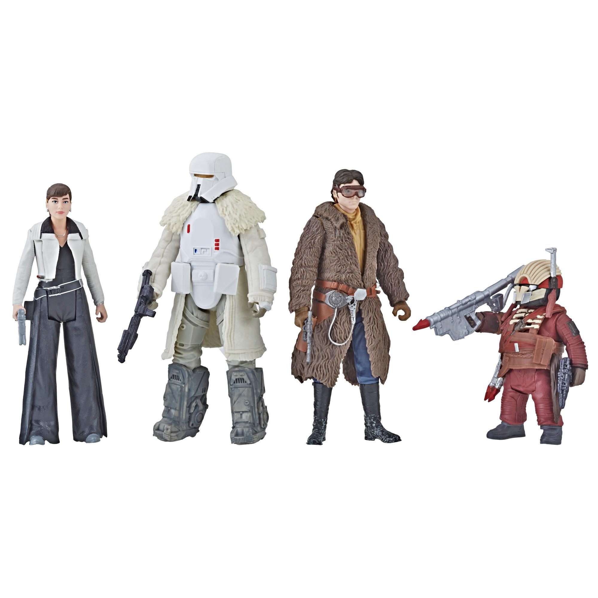 Star Wars Force Link - Quatuor de figurines Combat sur Crait