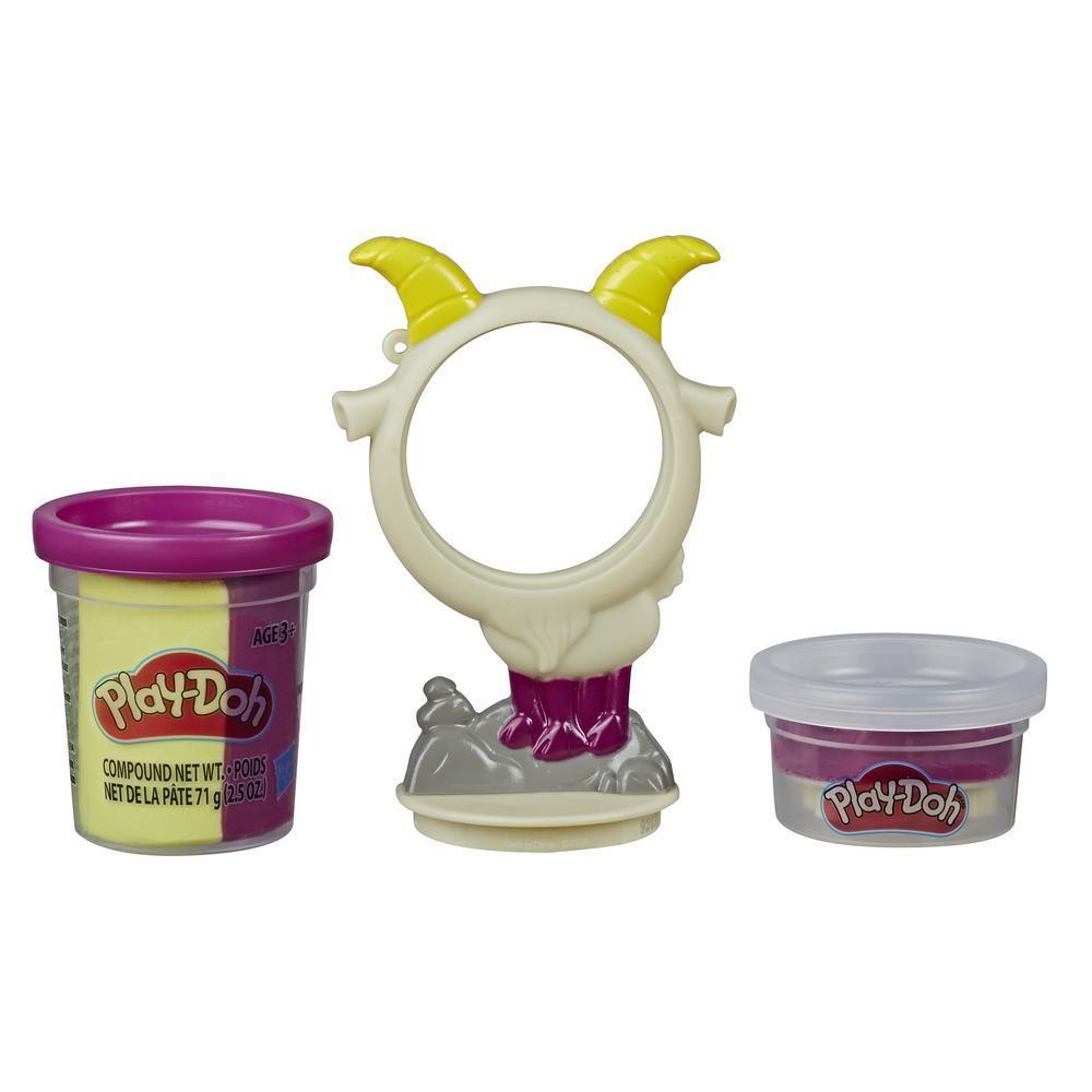 Play-Doh Animal Crew animaux en pots - jouet de pâte à modeler atoxique en forme de chèvre amusante
