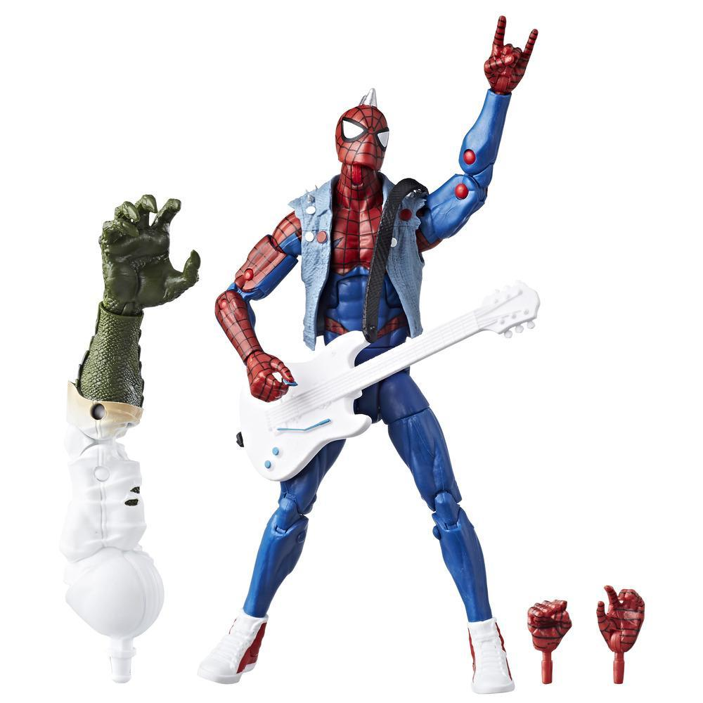 Spider-Man série Legends - Figurine Spider-Punk de 15 cm