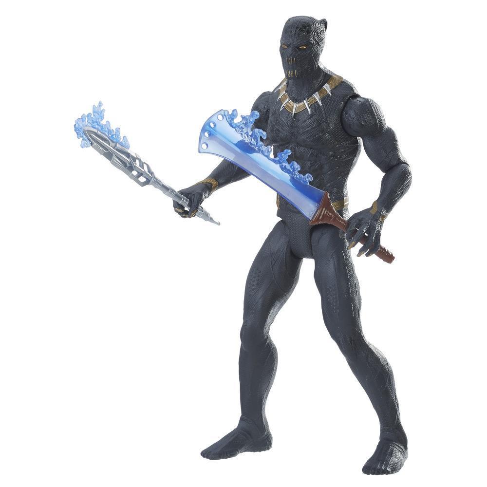 Marvel Black Panther - Figurine Erik Killmonger de 15 cm