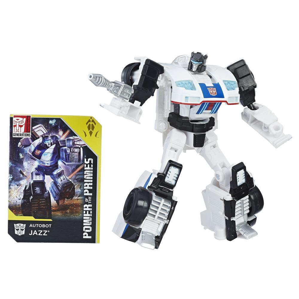 Transformers: Generations - Power of the Primes - Autobot Jazz de classe de luxe