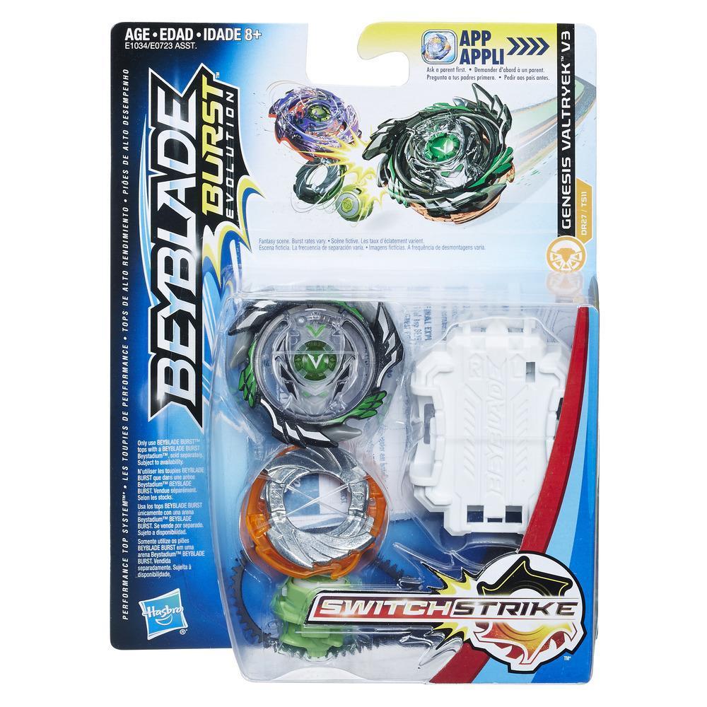 Beyblade Burst Evolution - Kit de départ SwitchStrike - Valtryek V3