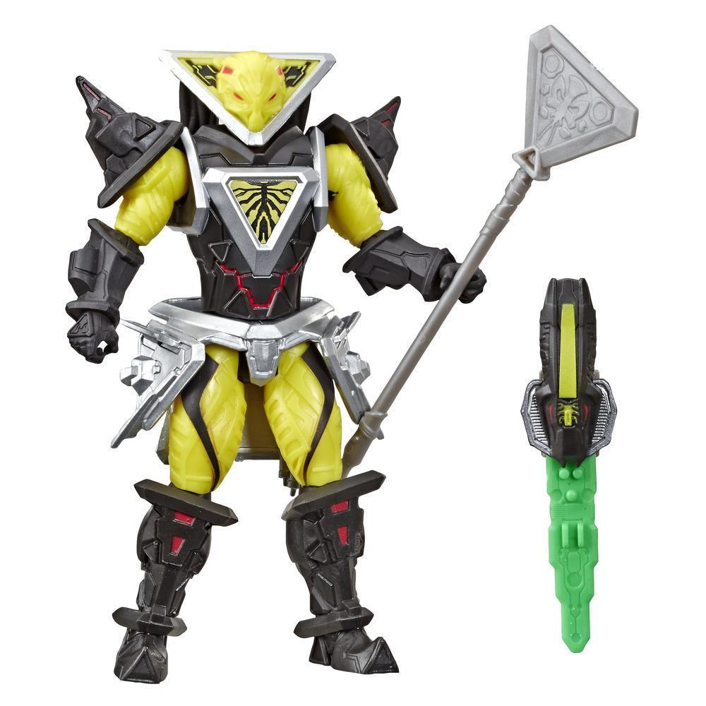 Power Rangers Beast Morphers - Figurine jouet de 15 cm Evox inspirée de la série télé Power Rangers