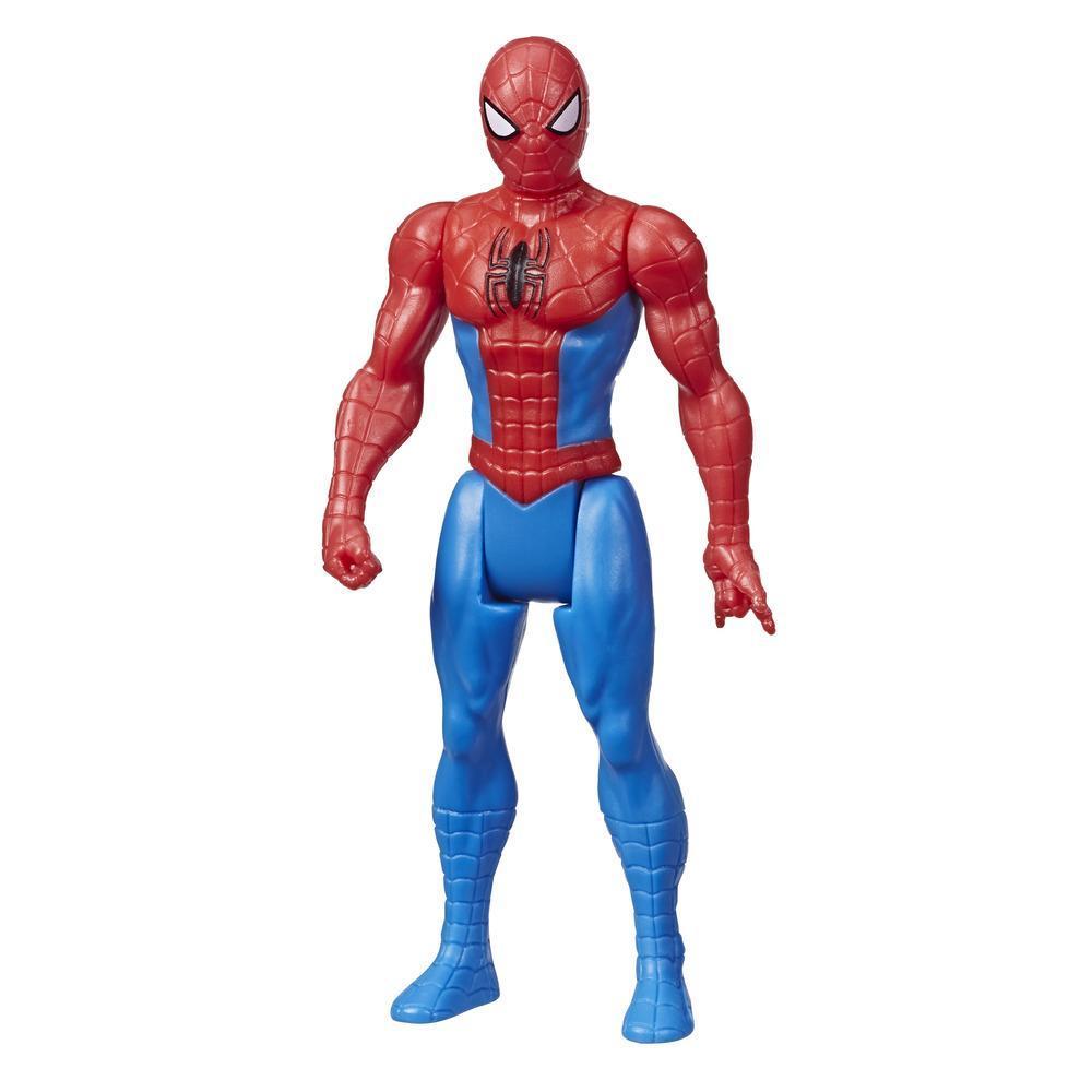 Marvel Avengers - Figurine Spider-Man de 9,5 cm inspirée des bandes dessinées classiques, pour enfants à partir de 4 ans