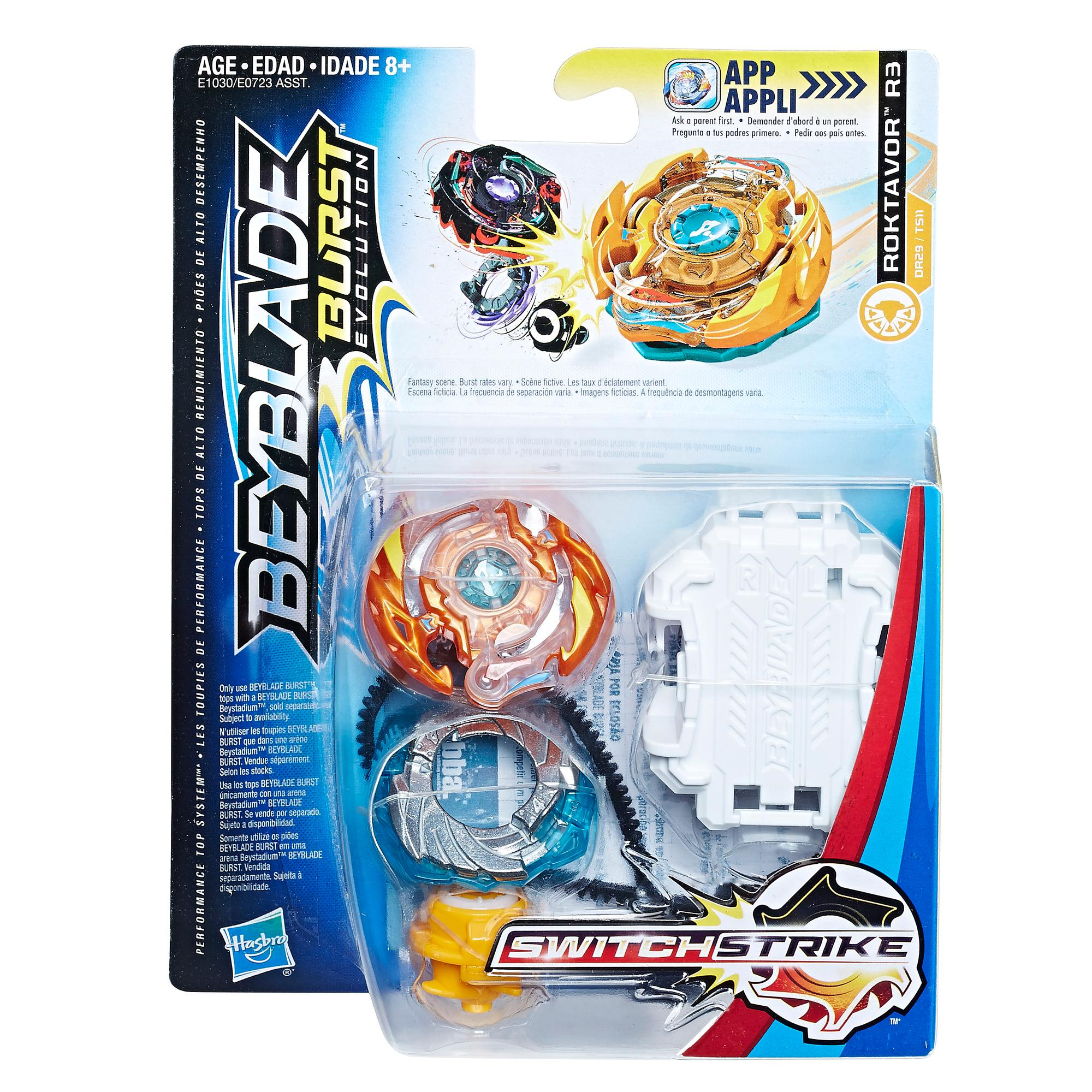Beyblade Burst Evolution - Kit de départ SwitchStrike Roktavor R3