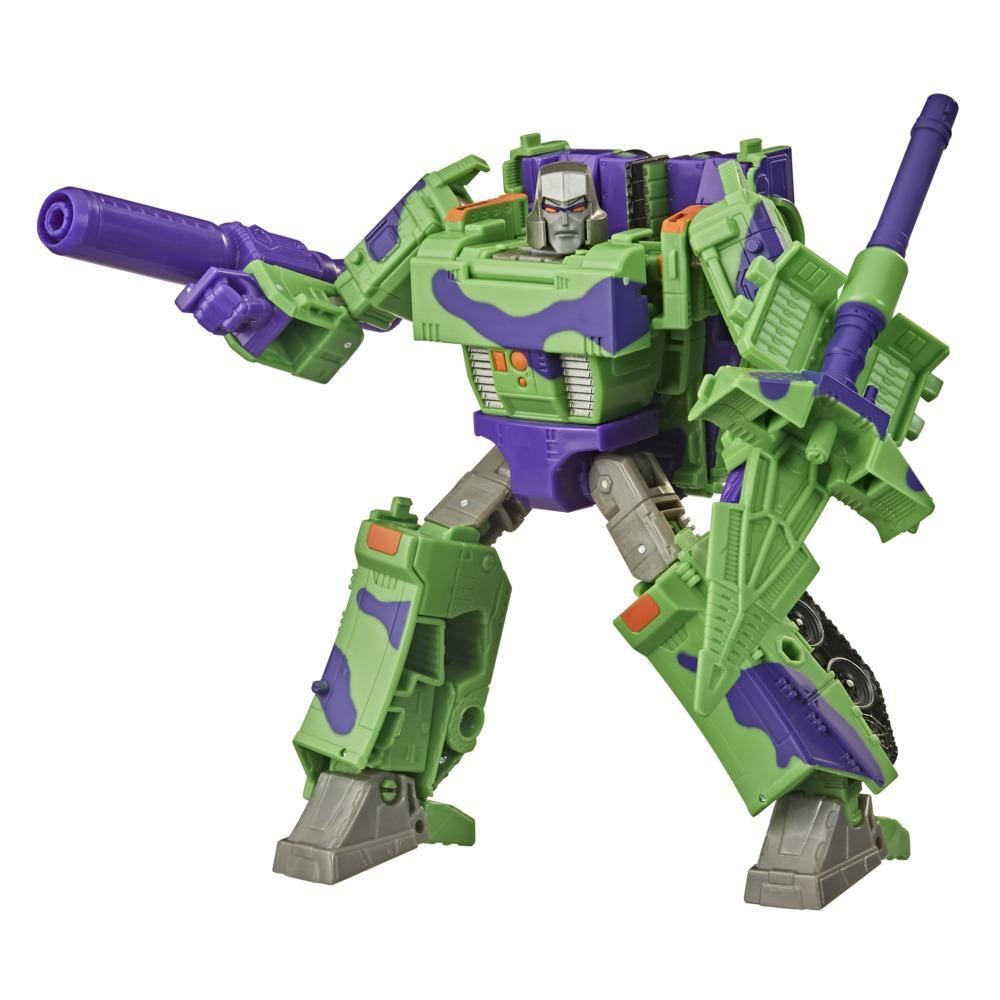 Transformers Generations Selects figurine de collectionneur WFC-GS14 Megatron (G2) War for Cybertron, Voyageur, 17,5 cm