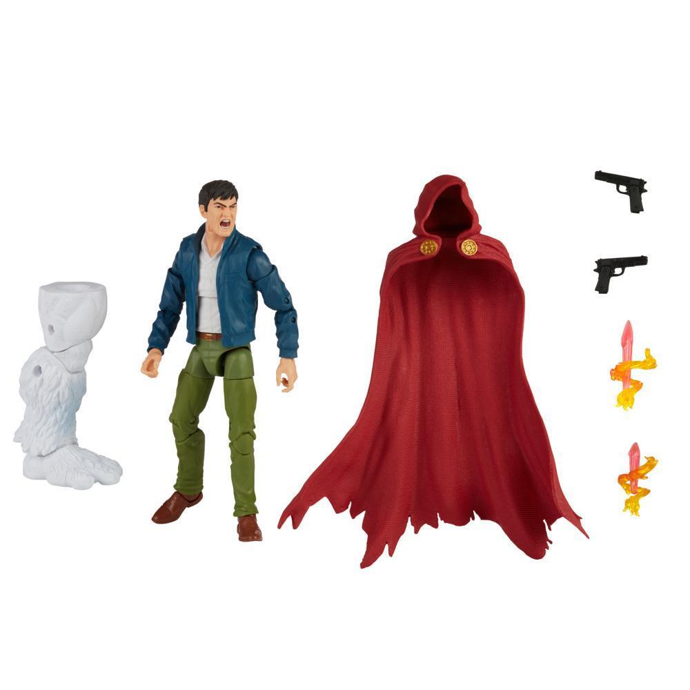 Hasbro Marvel Legends Series, figurine de collection Marvel's The Hood de 15 cm, design premium, 4 accessoires et 1 pièce Build-a-Figure