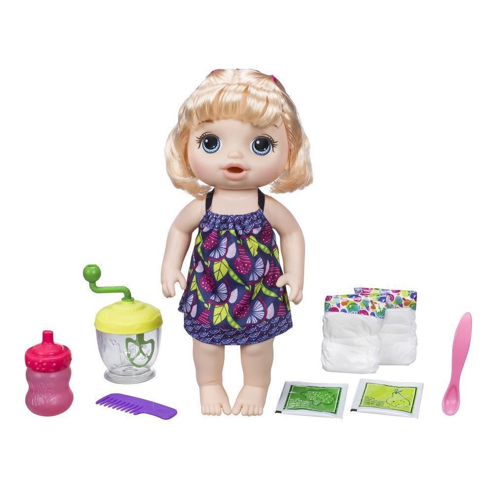 Baby Alive - Bébé Cuillerées sucrées (fille blonde)