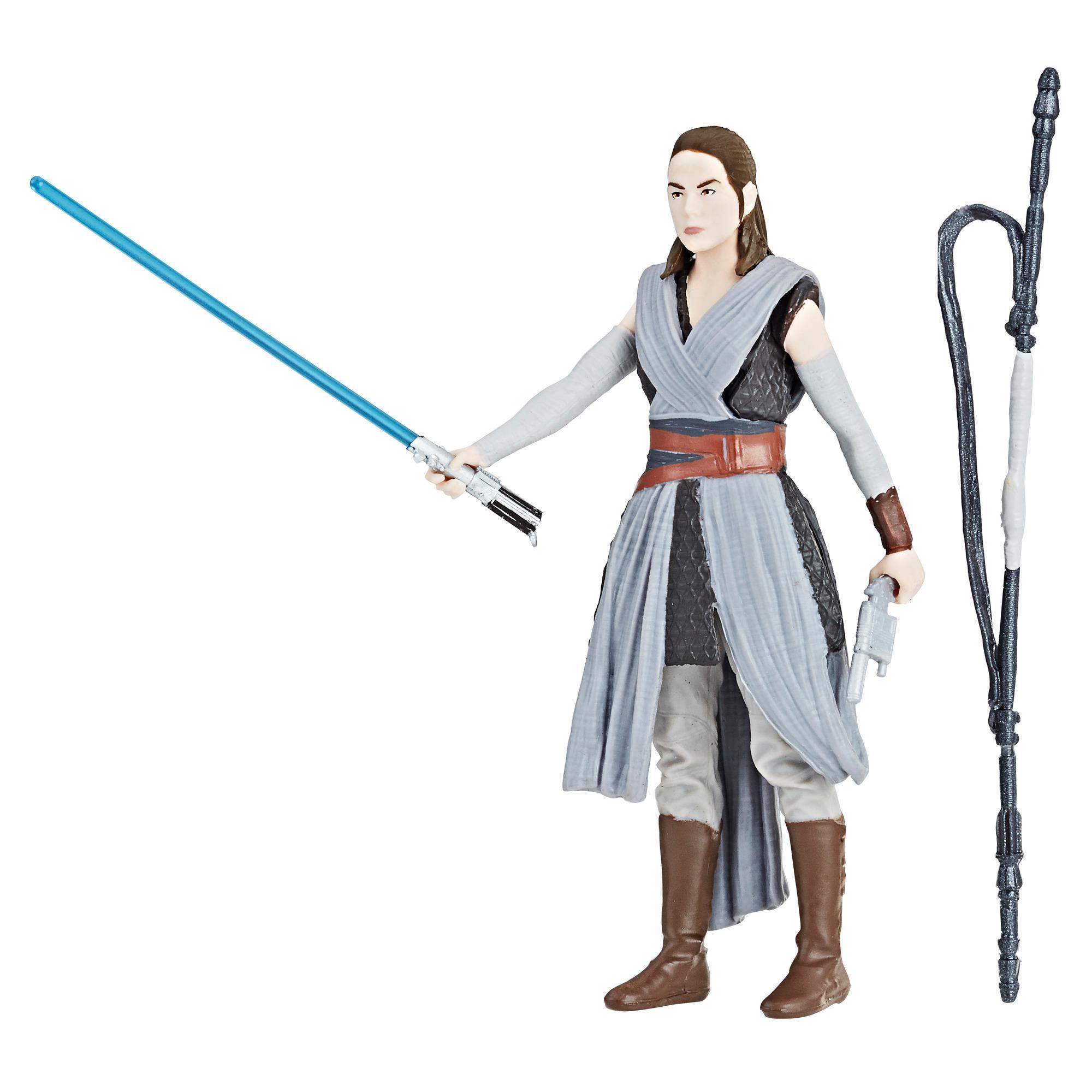 Star Wars Force Link 2.0 - Figurine Rey (Entraînement Jedi)