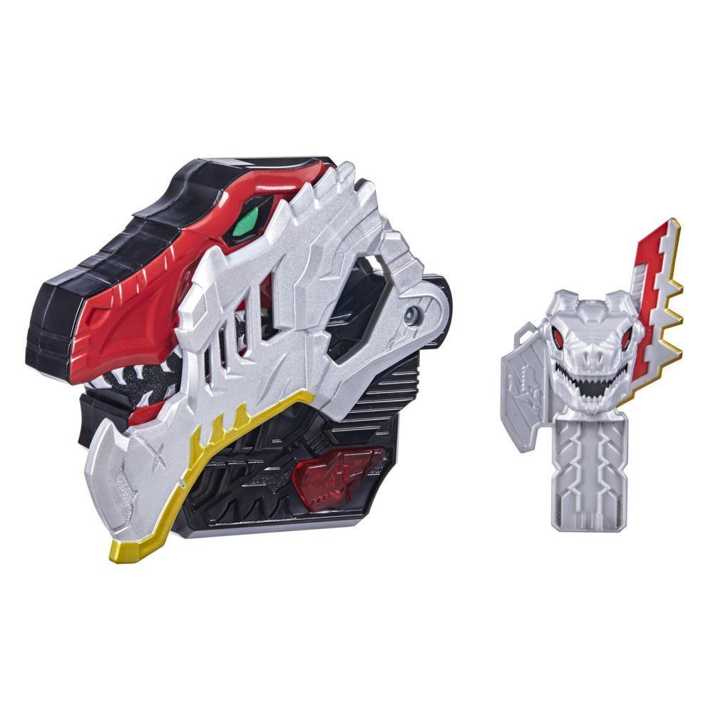Power Rangers, Dino Fury Morpher, jouet électronique avec sons et lumières, inclut clé Dino Fury, inspiré de la série télé