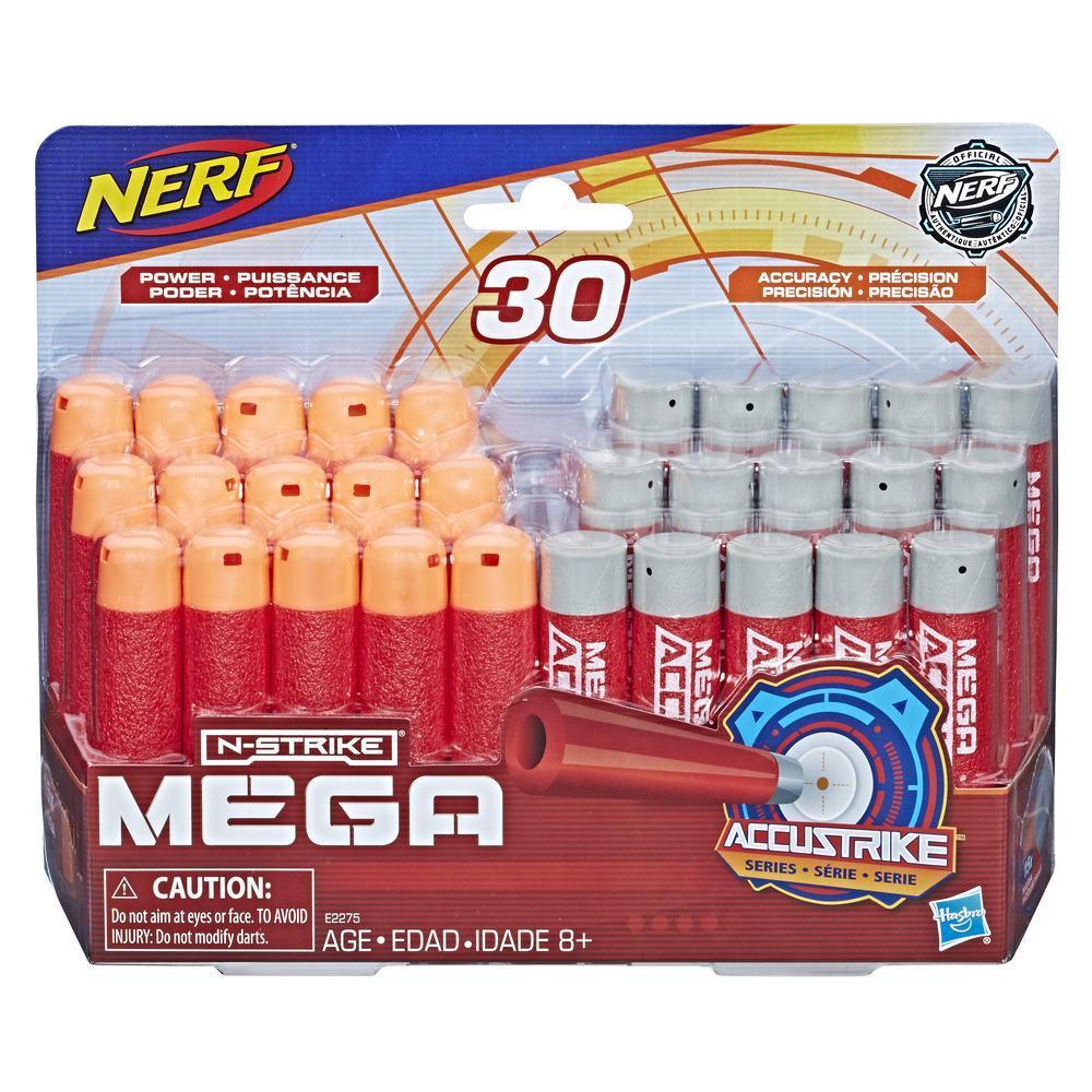 Recharge de 30 fléchettes de type Nerf Mega AccuStrike et Nerf Mega