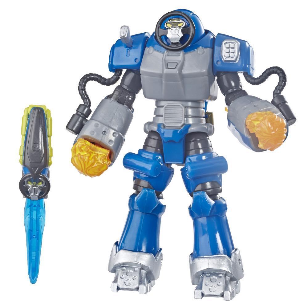Power Rangers Beast Morphers - Figurine jouet de 15 cm Smash Beastbot