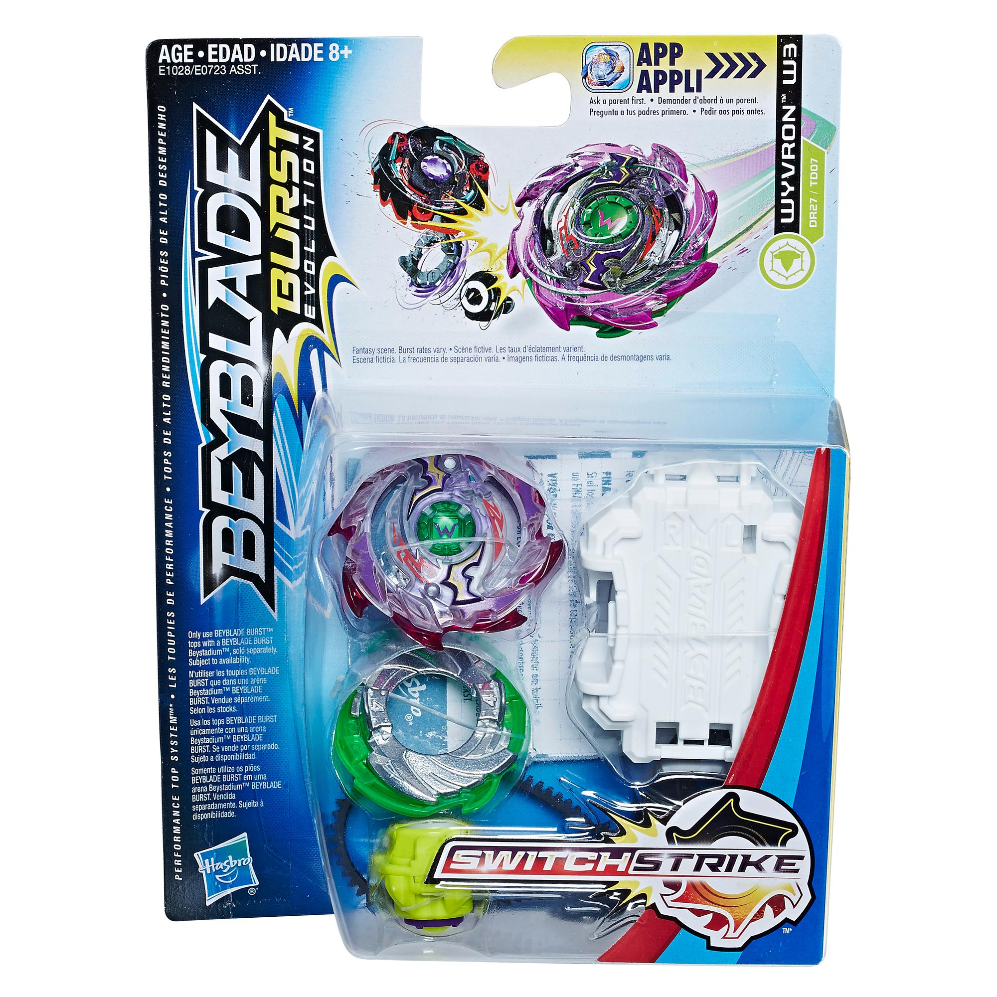 Beyblade Burst Evolution - Kit de départ SwitchStrike Wyvron W3
