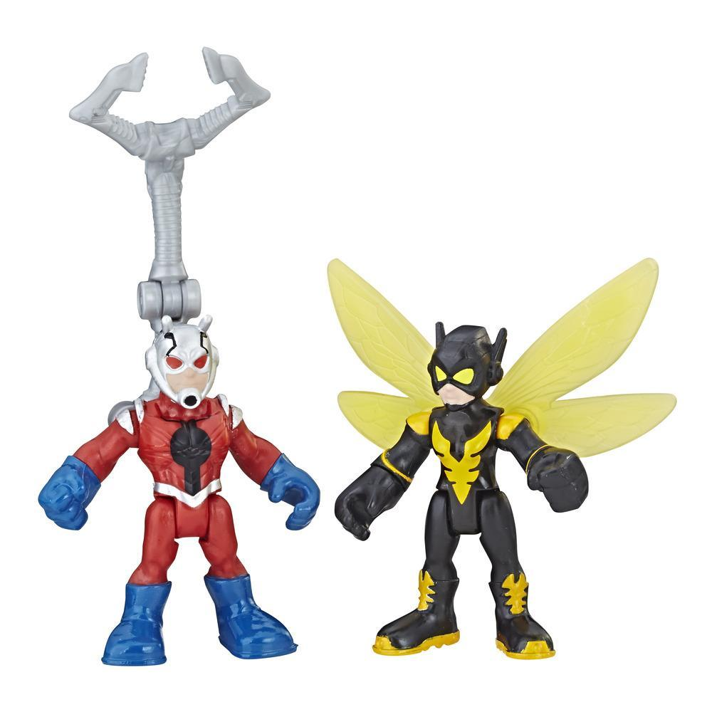 Playskool Heroes Marvel Super Hero Adventures - Ant-Man et la Guêpe