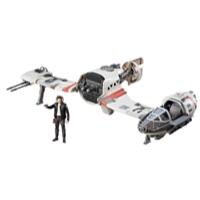 Star Wars Force Link - Speeder à ski de la Résistance Ski Speeder et figurine du capitaine Poe Dameron