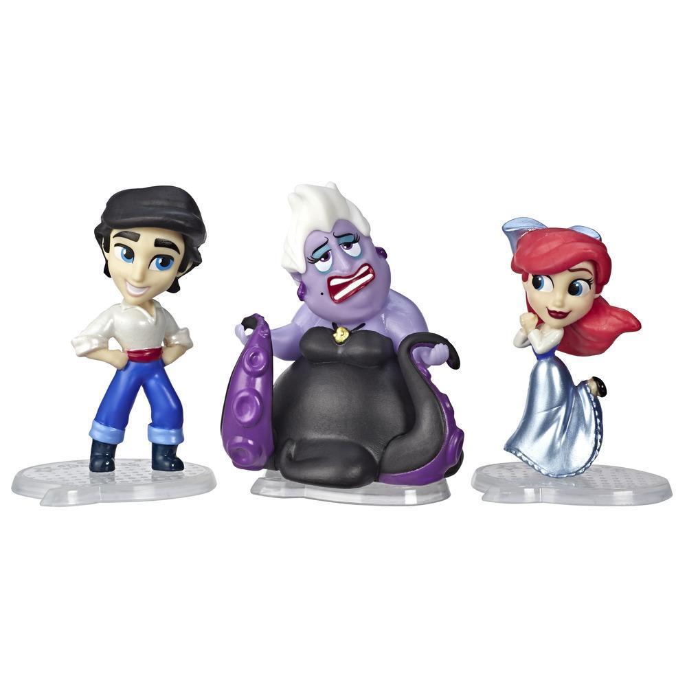 Disney Princess Comics - Tranches de vie d'Ariel, Journée à la mer avec le prince Éric et Ursula, 3poupées et bande dessinée