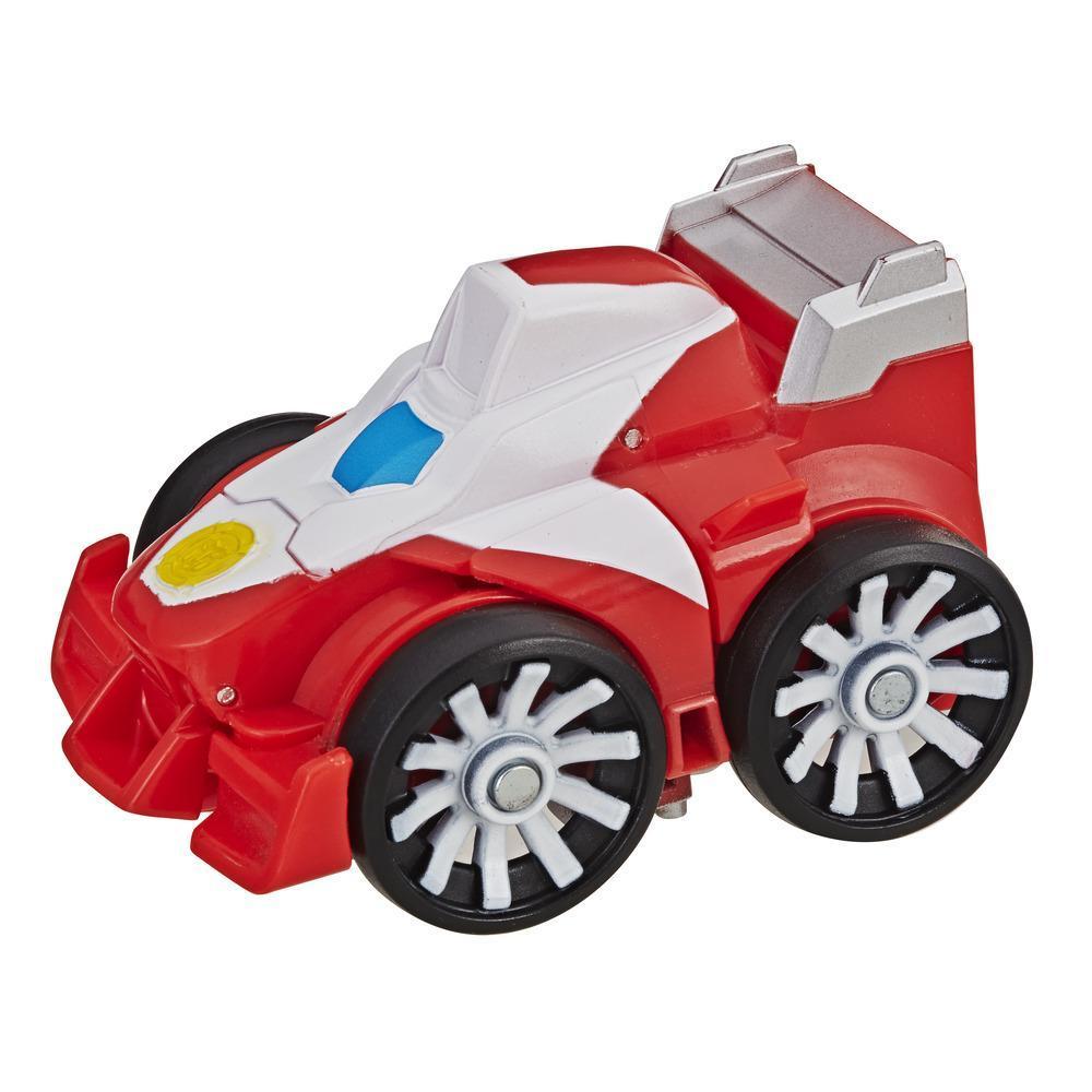 Playskool Heroes Transformers Rescue Bots Flip Racers - Heatwave le robot pompier