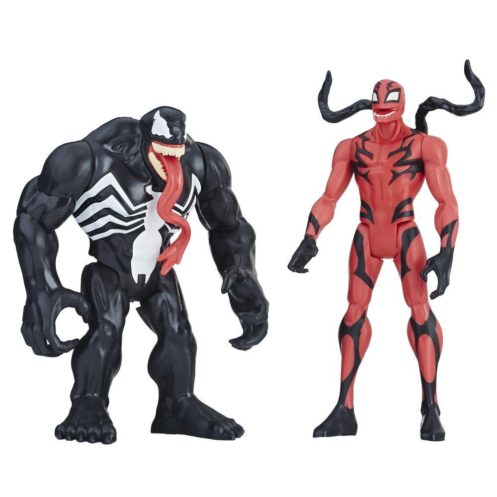 Marvel Venom - Duo de figurines Venom et Carnage