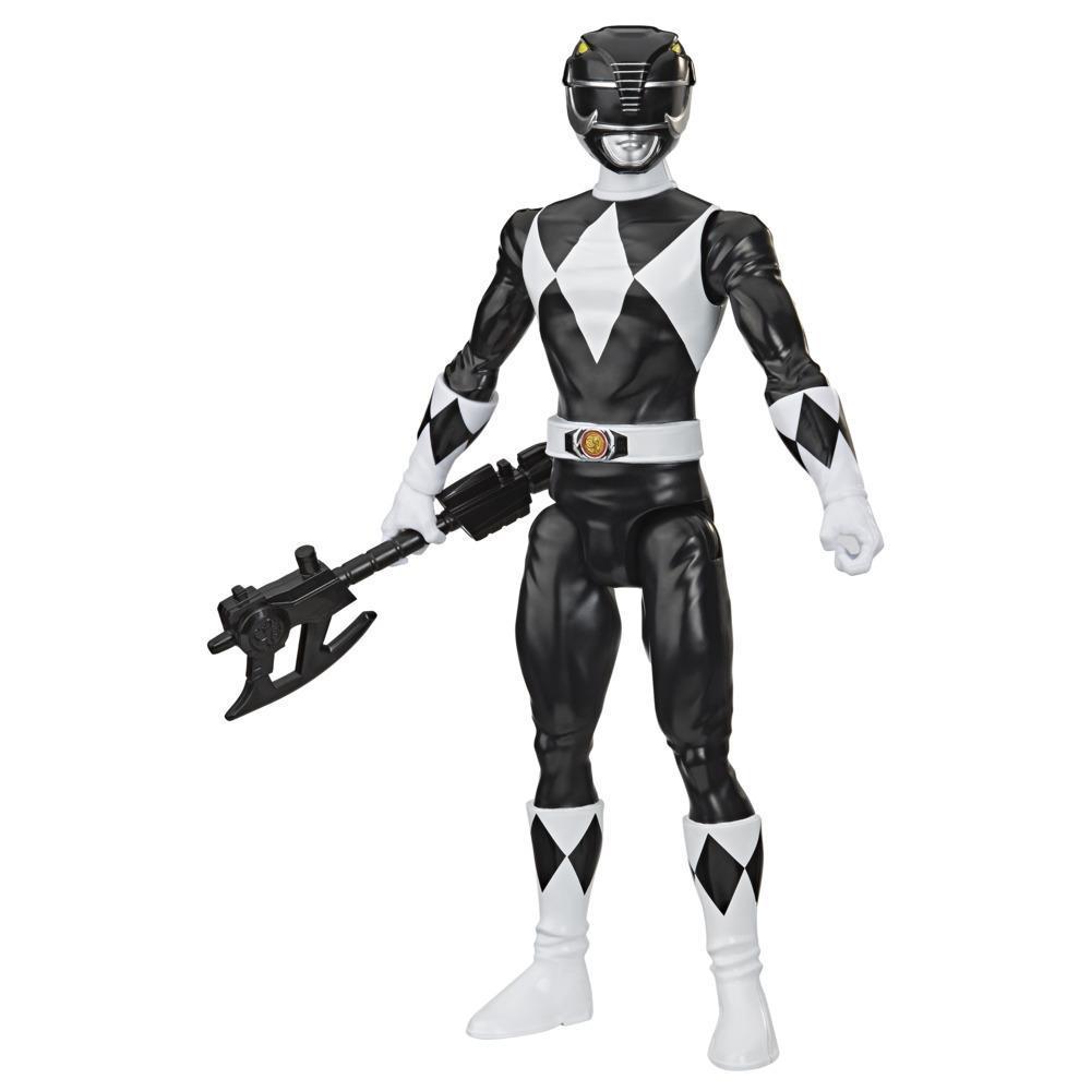 Power Rangers - figurine Mighty Morphin du Ranger noir de 30 cm