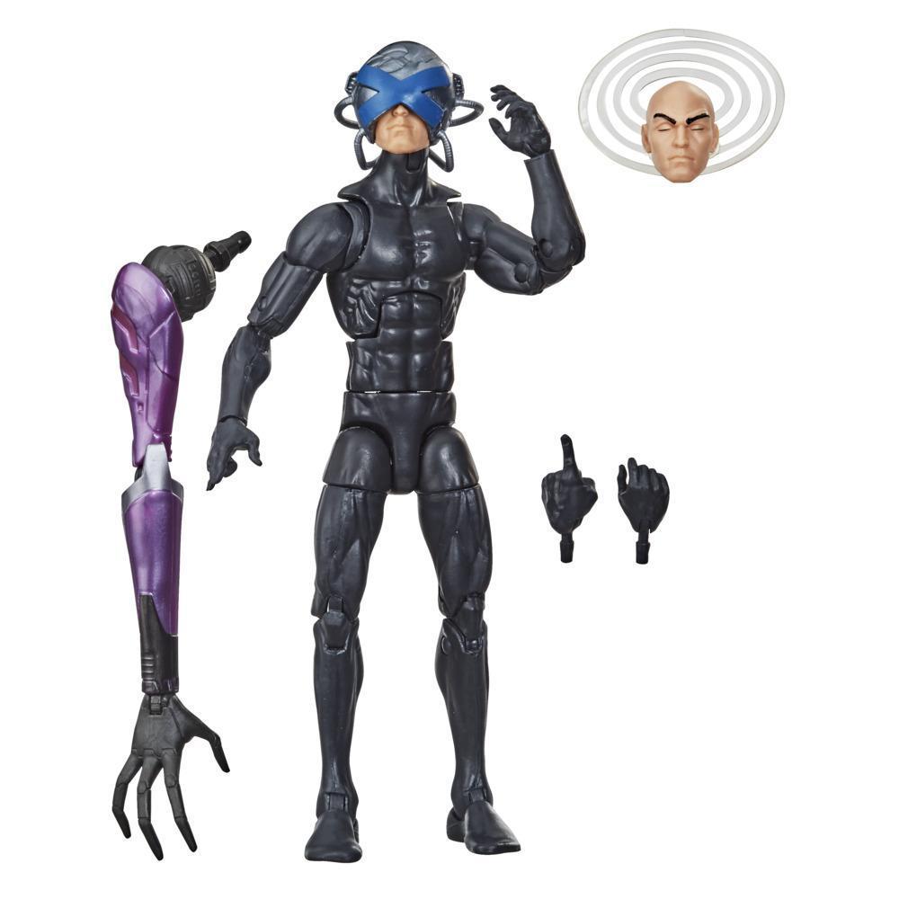 Hasbro Marvel Legends Series X-Men, figurine de collection Charles Xavier de 15cm avec 3 accessoires, dès 4 ans