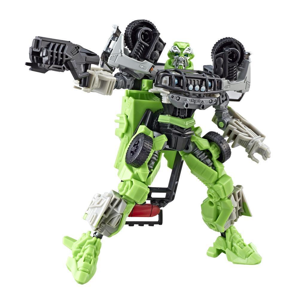 Transformers Transformers: La face cachée de la lune Studio Series 16 - Figurine Autobot Ratchet de classe de luxe