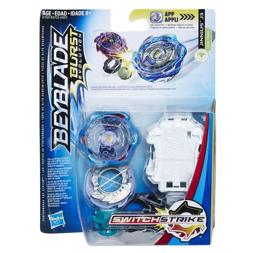 Beyblade Burst Evolution - Kit de départ SwitchStrike Jinnius J3