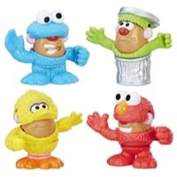 Playskool Friends Mr. Potato Head - Sesame Street Minivalise de patates