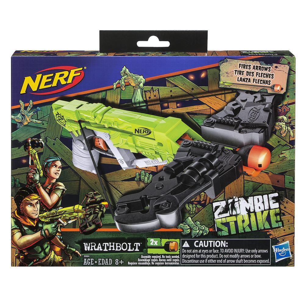Nerf Zombie Strike - Arbalète Wrathbolt