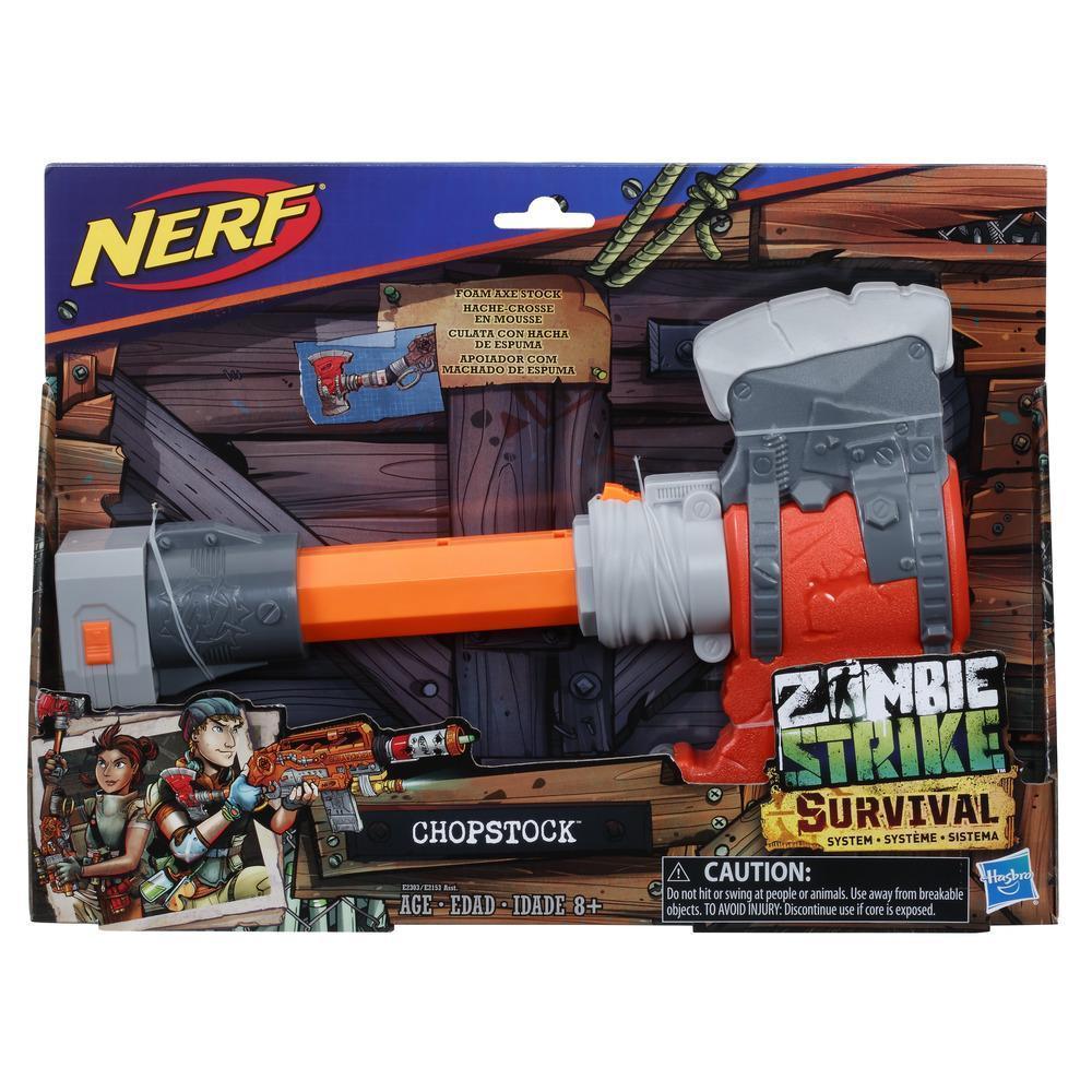 Nerf Zombie Strike - Système Survival - Chopstock
