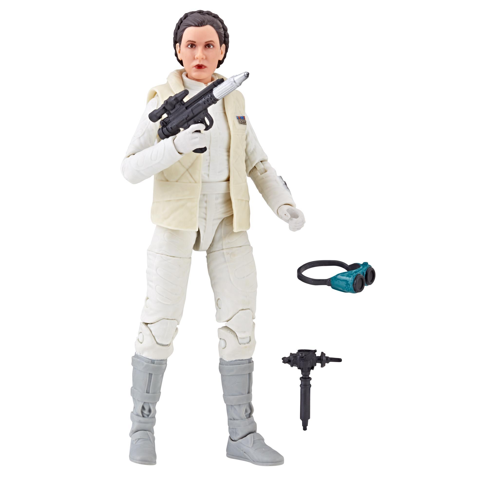 Star Wars Série noire - Figurine de la princesse Leia Organa (Hoth) de 15 cm