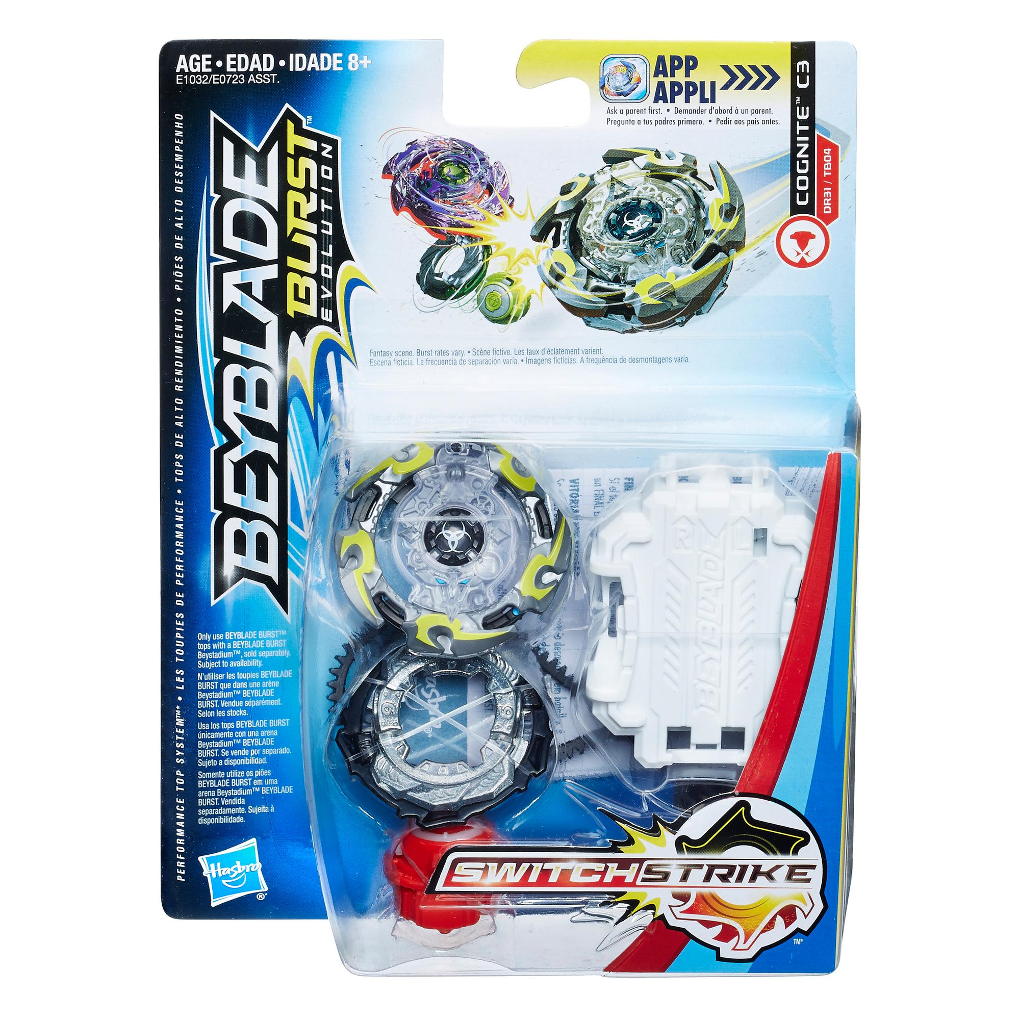 Beyblade Burst Evolution - Kit de départ SwitchStrike - Cognite C3
