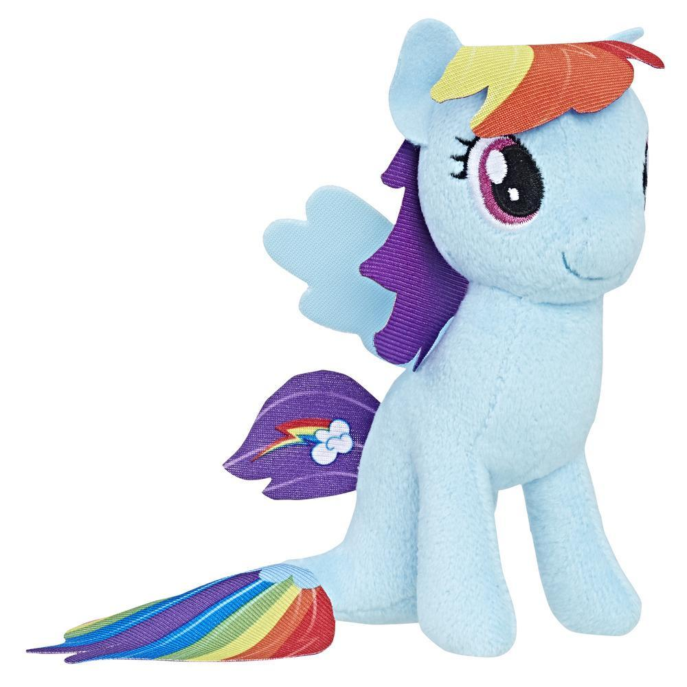 My Little Pony the Movie - Petite peluche du poney-sirène Rainbow Dash