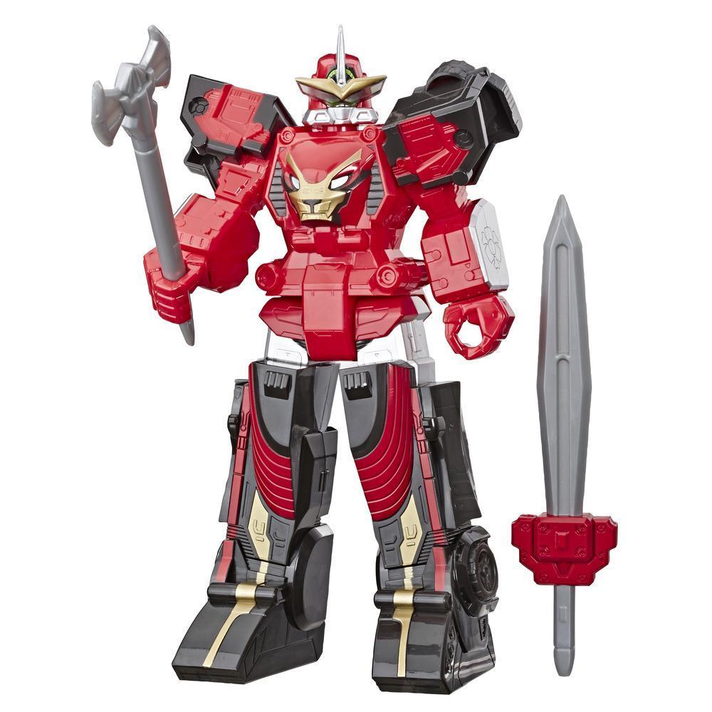 Power Rangers Beast Morphers, figurine de Zord Power Rangers Beast Racer, taille de 25 cm
