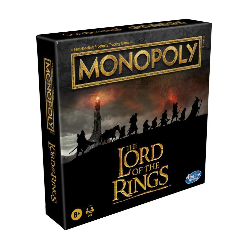 Monopoly: édition Lord of the Rings, jeu de plateau pour enfants, à partir de 8ans