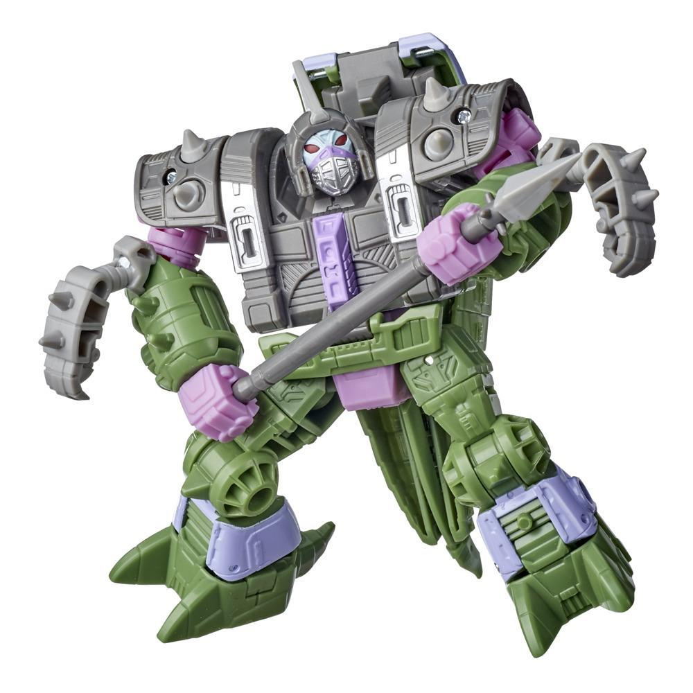 Transformers Generations War for Cybertron : Earthrise, figurine Quintesson Allicon WFC-E19 Deluxe de 14 cm