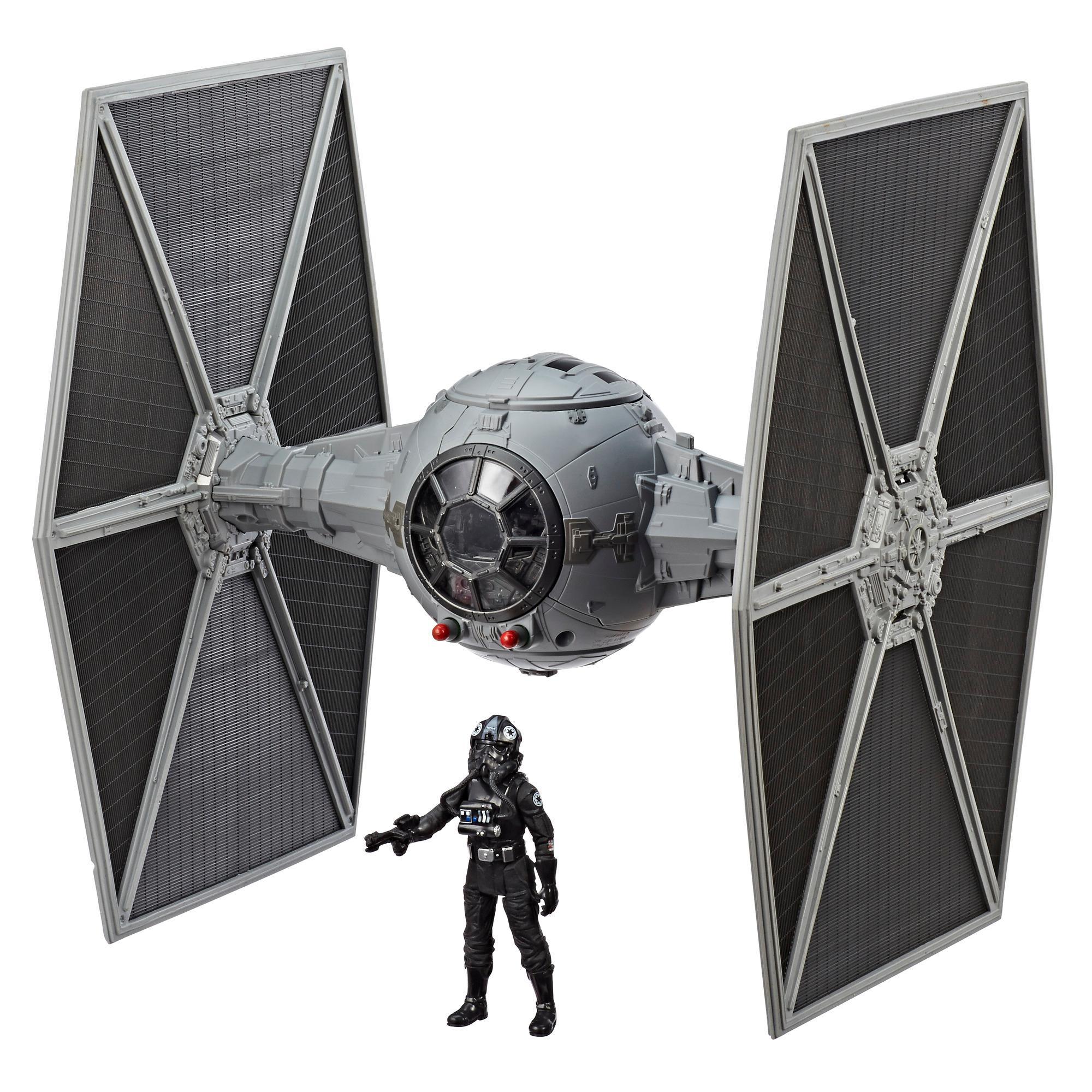 Star Wars Force Link 2.0 - Chasseur TIE et figurine pilote de chasseur TIE
