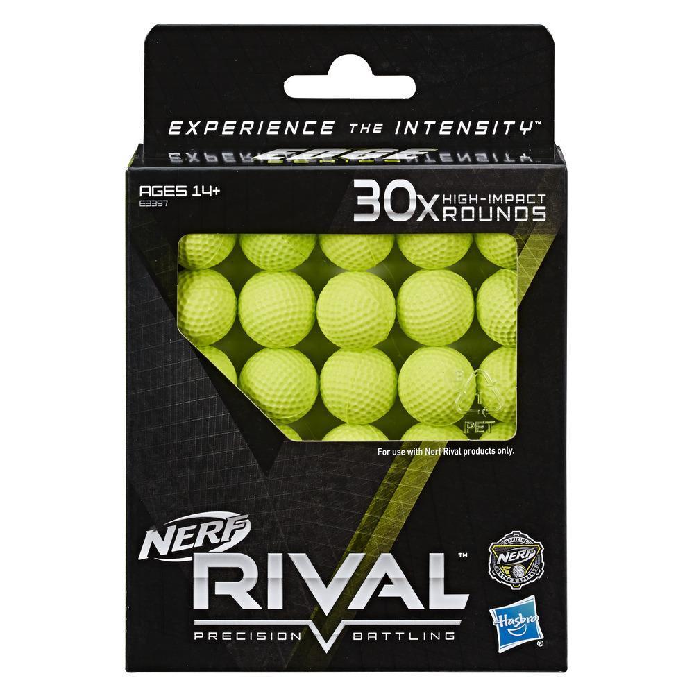 Recharge de 30 balles Nerf Rival officielles Série Edge
