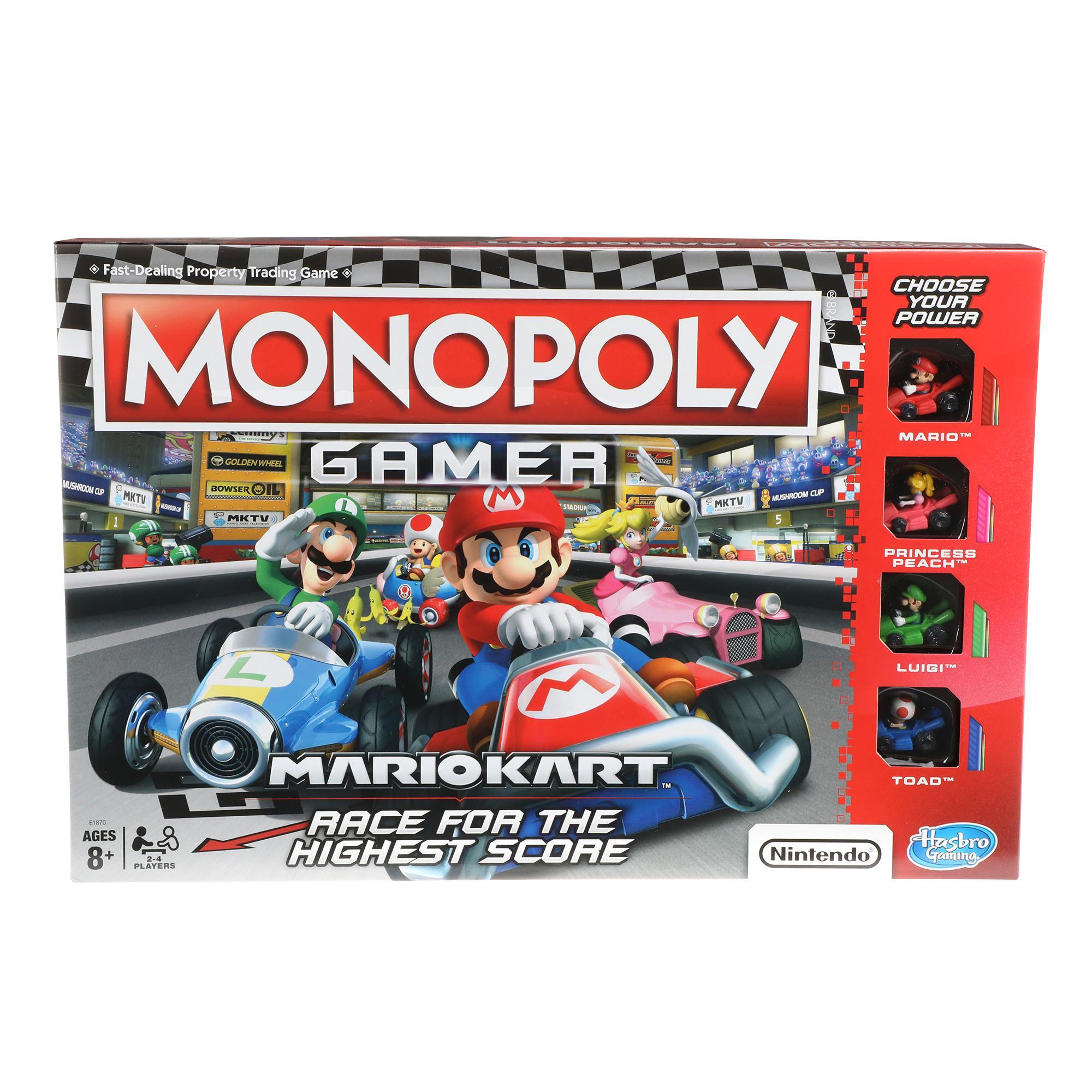 Jeu Monopoly Gamer Mario kart