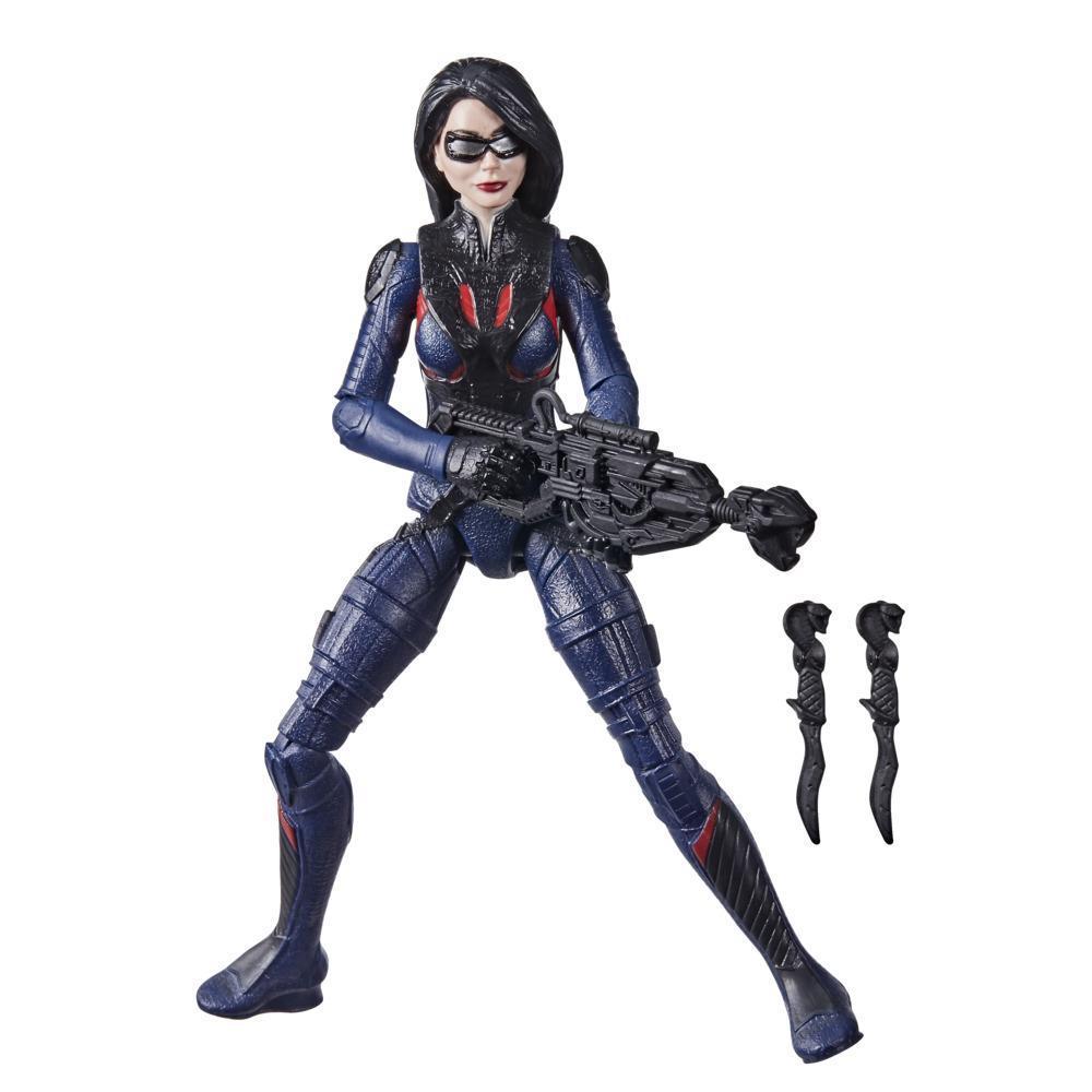 Snake Eyes: G.I. Joe Origins, figurine Baroness avec mouvement d'attaque et accessoires, pour enfants à partir de 4 ans
