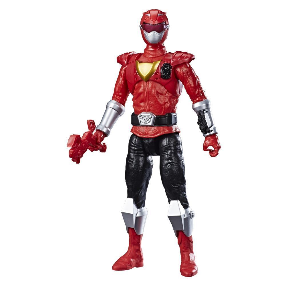 Power Rangers Beast Morphers - Figurine jouet de 30 cm Ranger rouge Beast-X inspirée de la série télé Power Rangers
