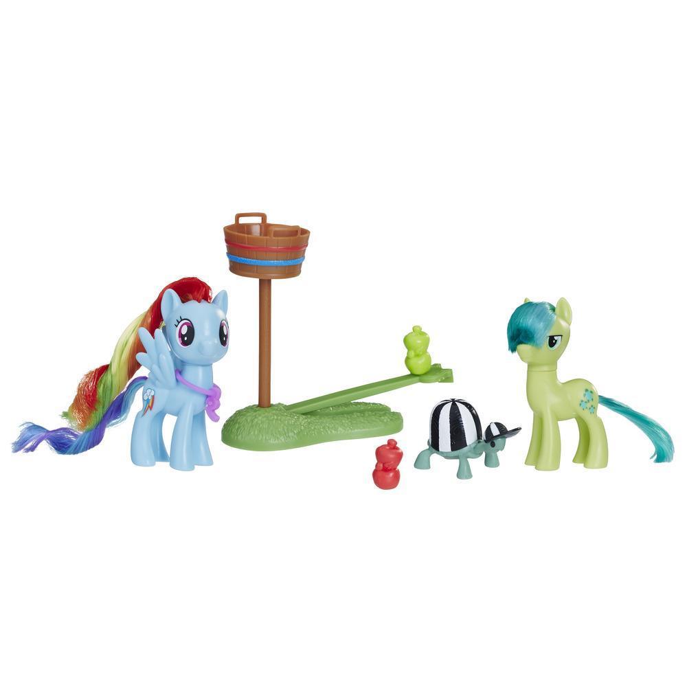 My Little Pony - Leçon d'équipe avec Rainbow Dash et Sandbar