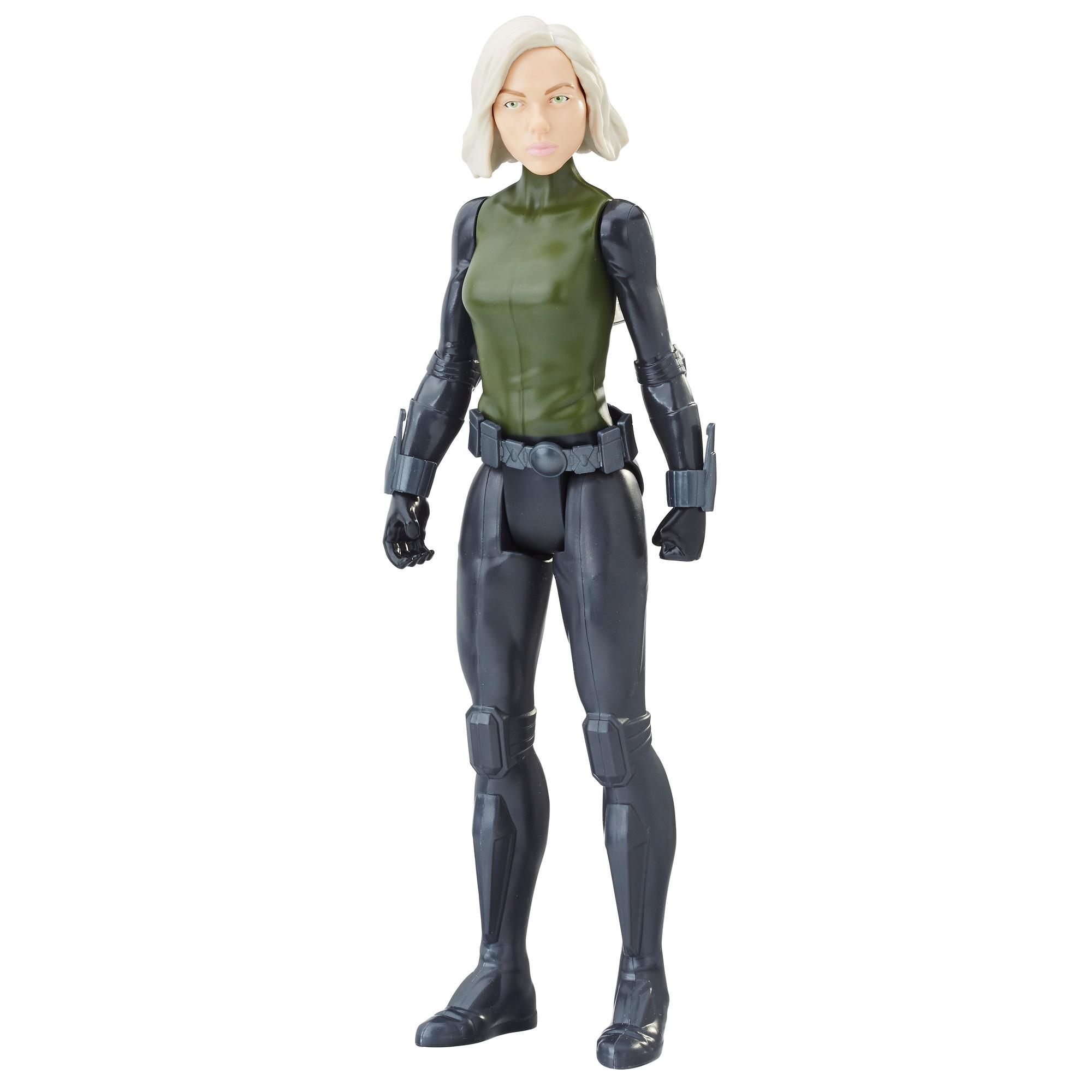Marvel Avengers: La guerre de l'Infini - Titan Hero Series - Black Widow avec port Power FX