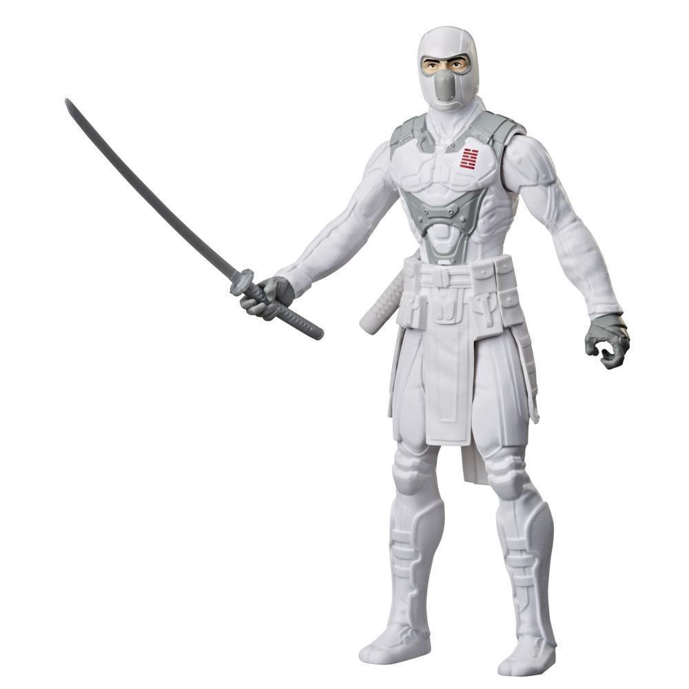 Snake Eyes: G.I. Joe Origins, figurine de collection Storm Shadow de 30 cm avec épée ninja, pour enfants dès 4 ans