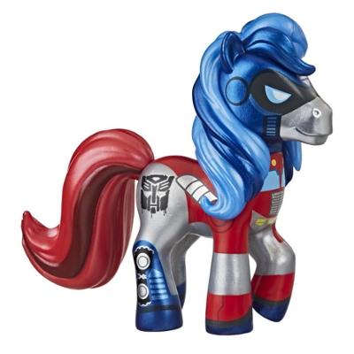 Collection Fusion My Little Pony et Transformer, My Little Prime, poney de collection inspiré des Transformers