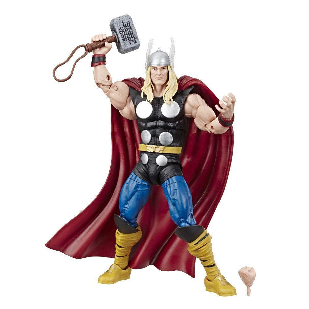 Marvel Comics 80th Anniversary Legends Series - Figurine articulée Thor de 15 cm