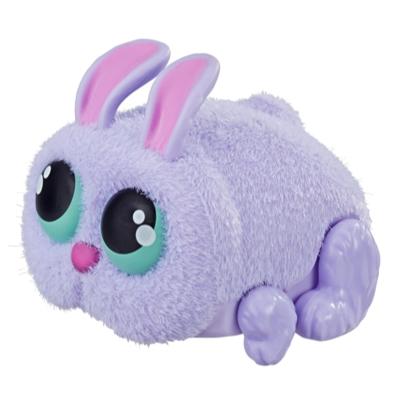 Fluffertail de Yellies!, jouet de lapin de compagnie activé par la voix