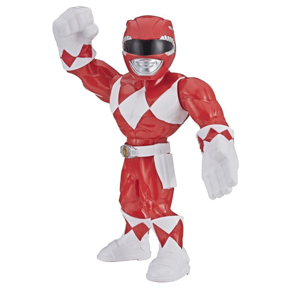 Playskool Heroes Mega Mighties Power Rangers - Figurine Ranger rouge